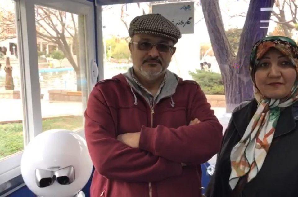 مصاحبه با بازدیدکنندگان نگارخانه – شانزدهم