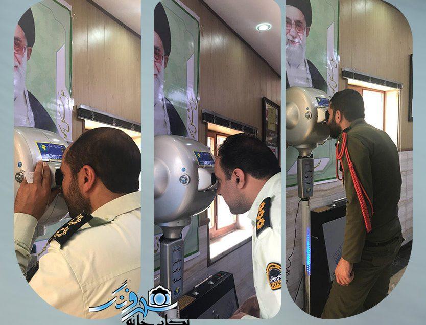 نصب نمايشگر سه بُعدي در كلانتري جهاد